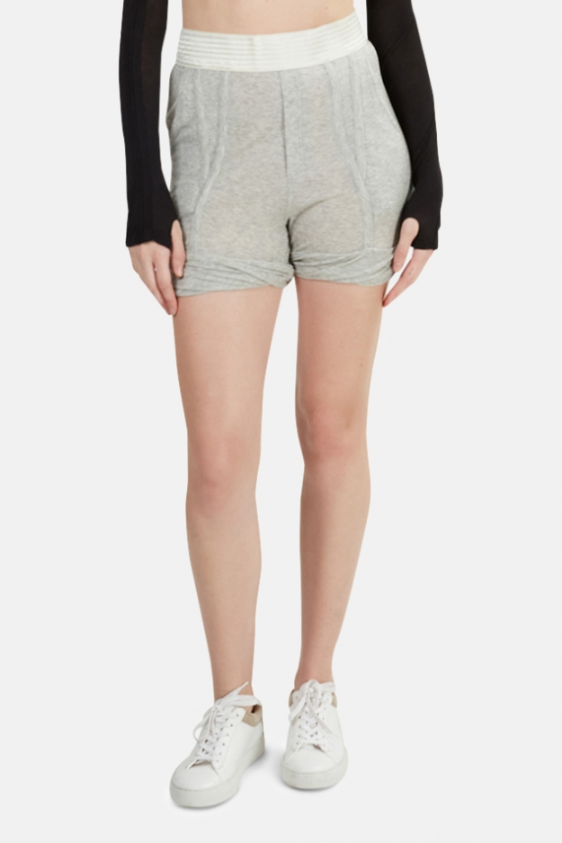 T by Alexander Wang Tencel Shorts