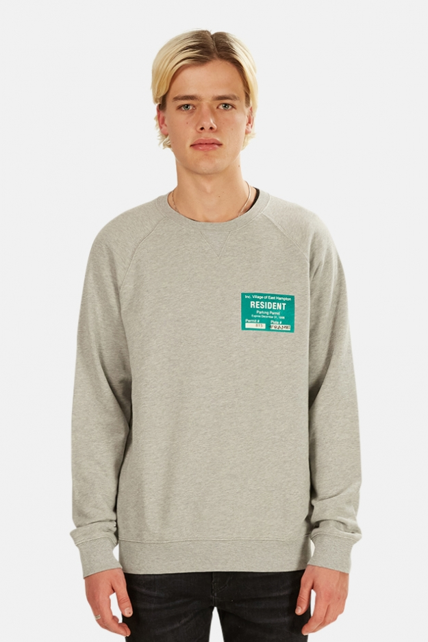 Blue&Cream x FRAME Parking Permit Sweatshirt