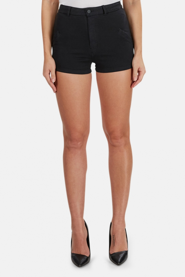 T by Alexander Wang High Waist Stretch Short