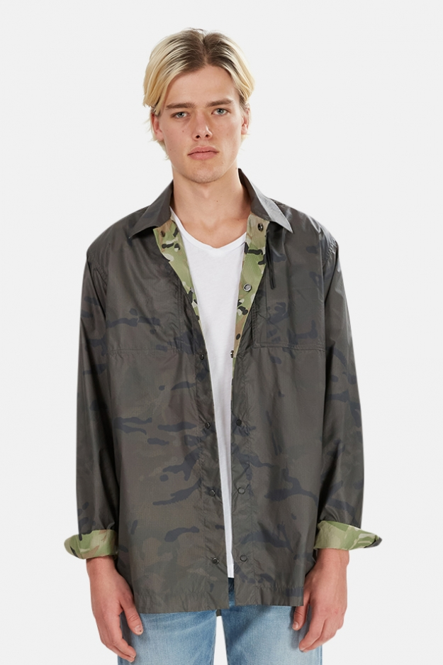 Maharishi Camo Tech Reversible Travel Shirt