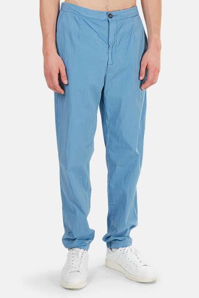 Men's President's Journey Trouser in Sky Blue, Size 2XL