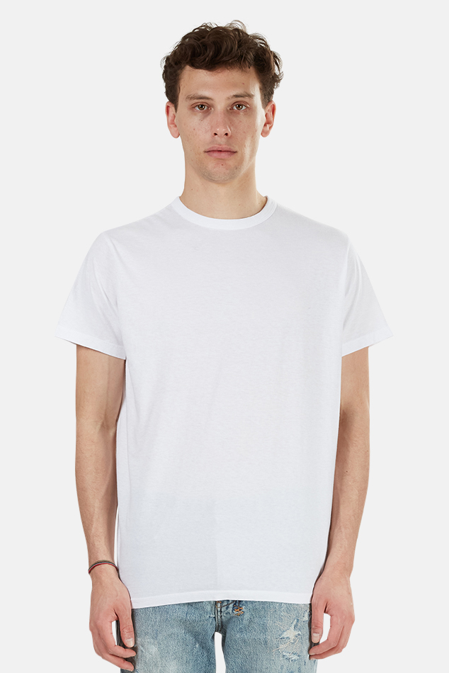 Men's RE/DONE Modern Classic T-Shirt in White, Size Large