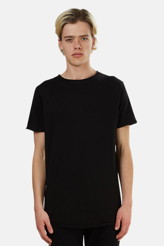 Men's nANA jUDY Basic Crew Classic T-Shirt in Black, Size Small