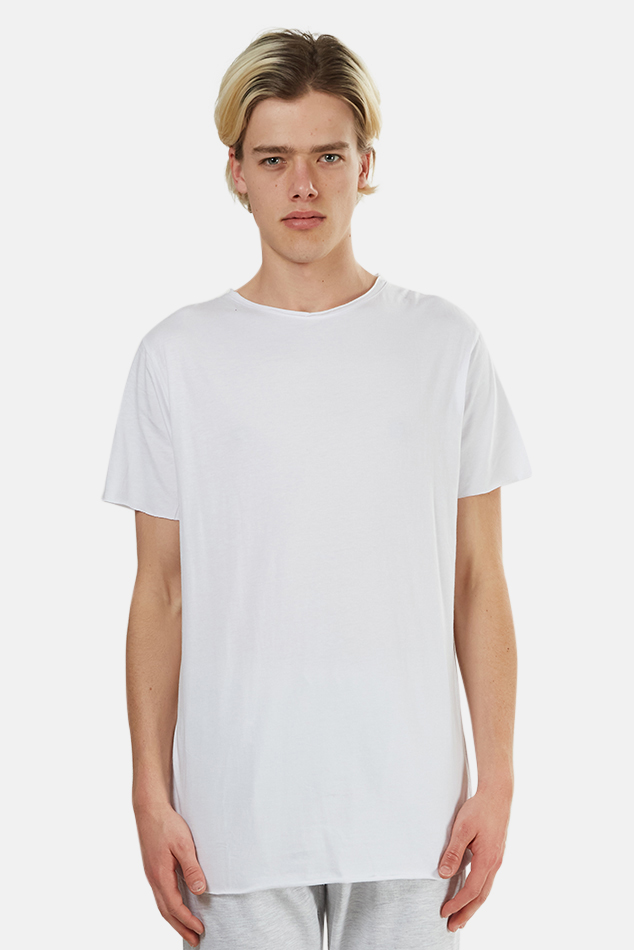 Men's nANA jUDY Basic Crew Classic T-Shirt in White, Size Large