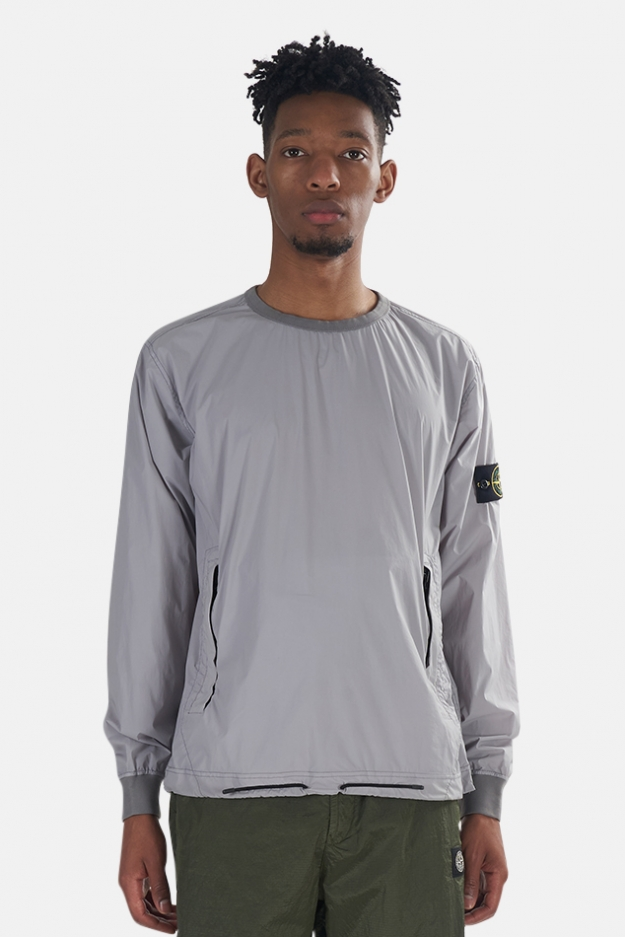 Stone Island Skin Touch Packable Nylon Crewneck