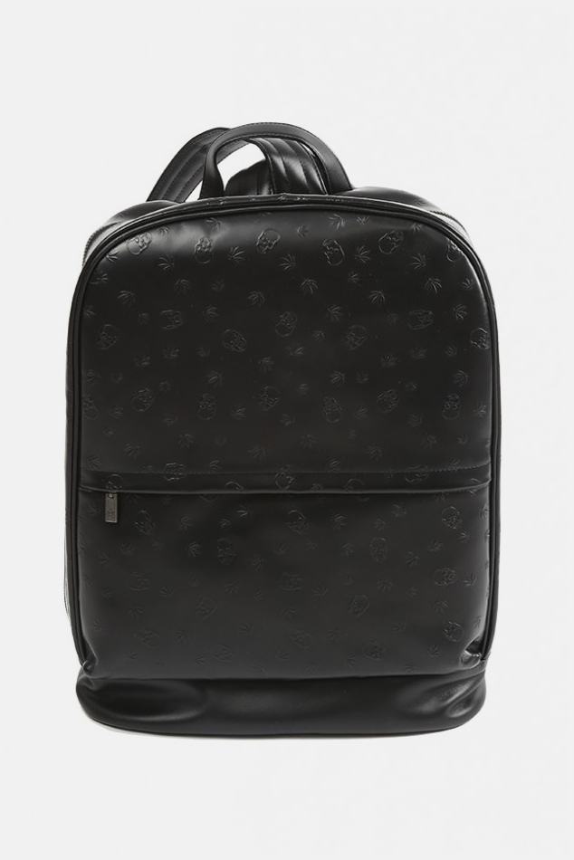 Lucien Pellat-Finet Monogram Backpack in Black