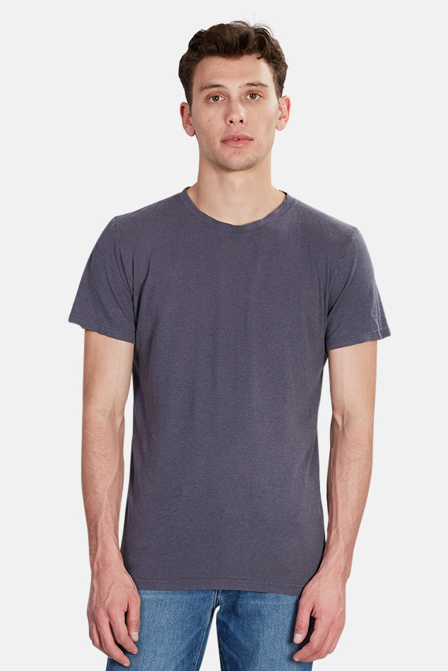 Men's Jungmaven Jung T-Shirt in Diesel Grey, Size Small