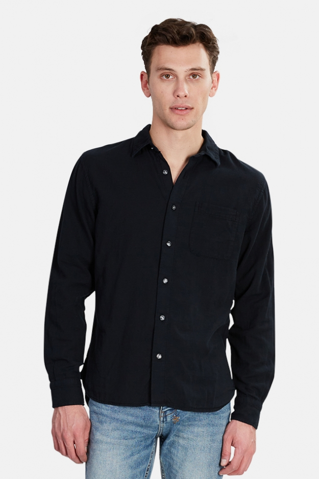 Kato The Ripper Slim French Seam Shirt