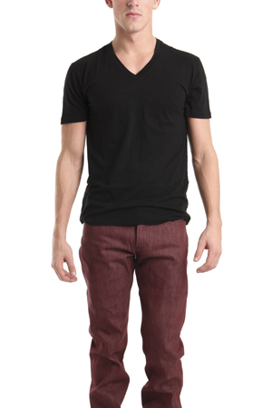 Spurr by Simon Spurr Pima Cotton Vneck