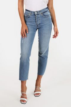 RE/DONE High Rise Stove Pipe Jean