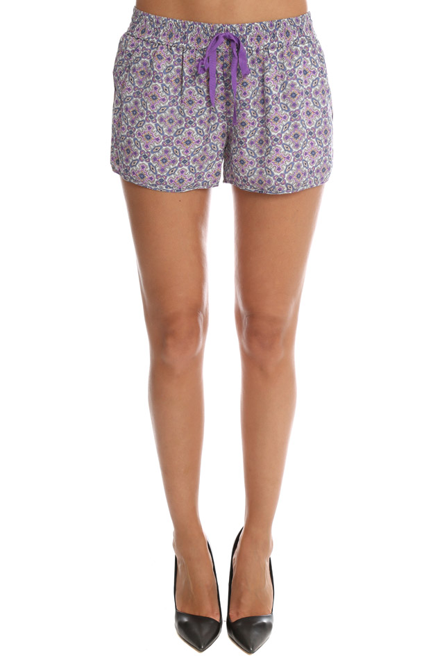 Women's Joie Layana Short in Petunia, Size Small