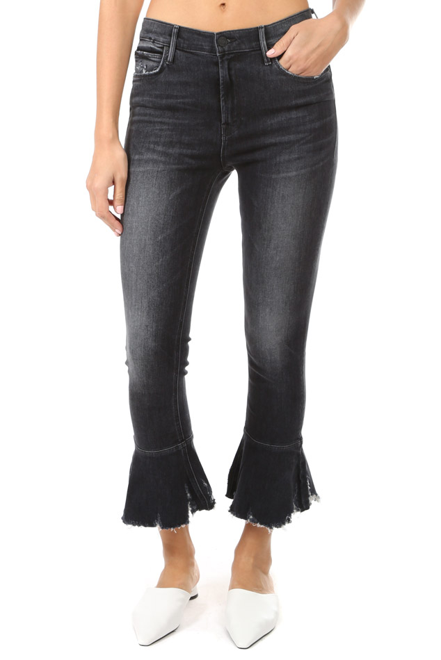 Women's MOTHER The Cha Cha Chew Jeans in Leave The Light On, Size 24