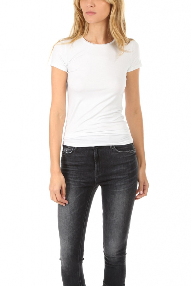 Majestic Filatures Soft Touch Metallic Tee