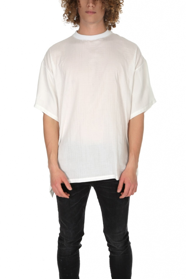 Longjourney Baggy Contrast Back Tee