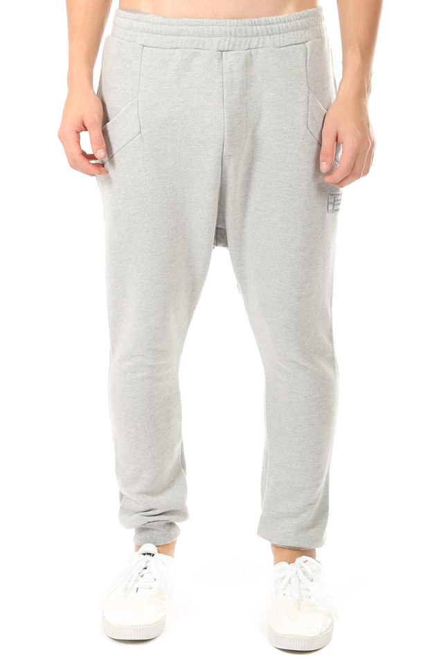 Men's Baja East Harem Sweatpant in Grey, Size 0