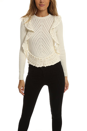 RED Valentino Knit Sweater VALF6-2