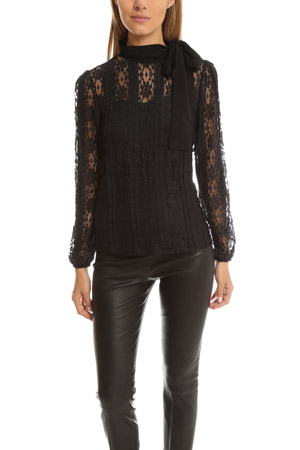 RED Valentino Lace Top VALF6-15