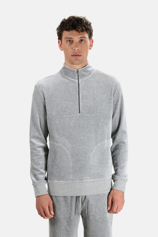 Wheelers.V Astor Half Zip Pullover