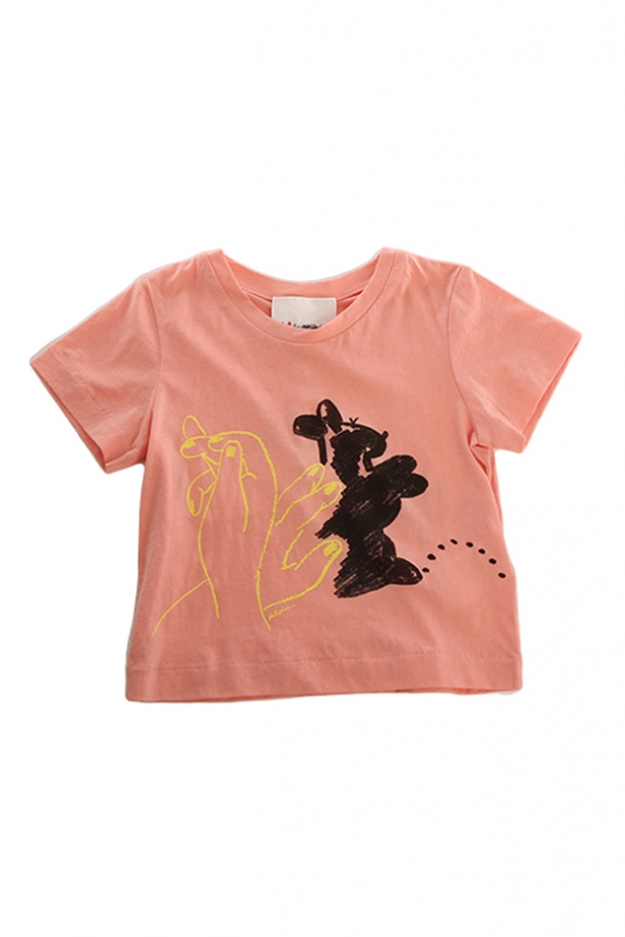 3.1 Phillip Lim Kids Bunny Puppet Muscle Tee