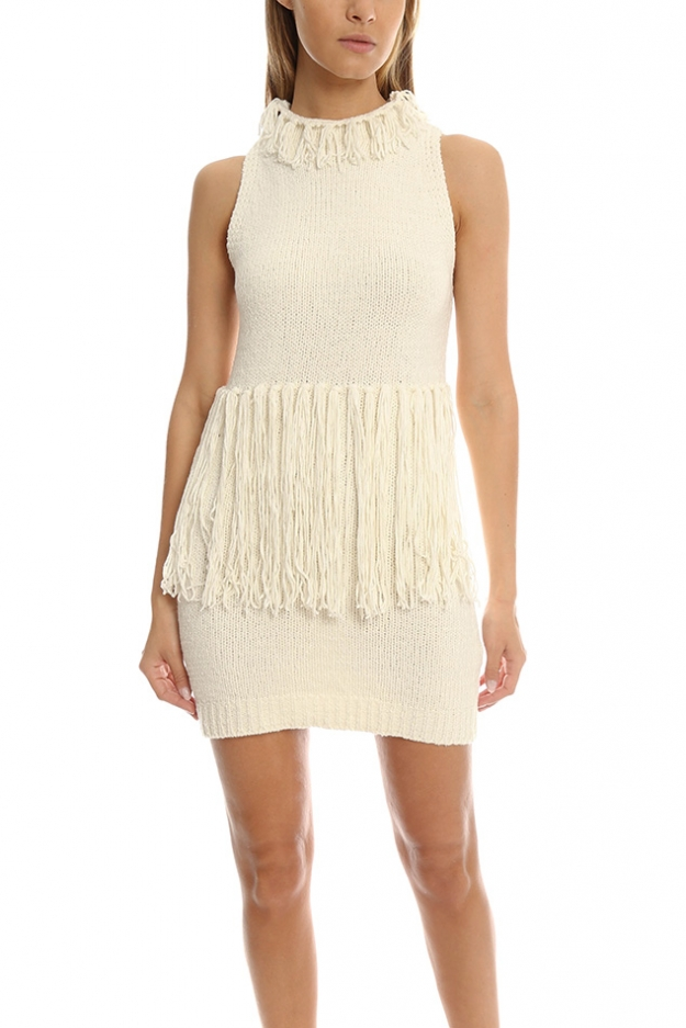 3.1 Phillip Lim Fringe Tank Dress