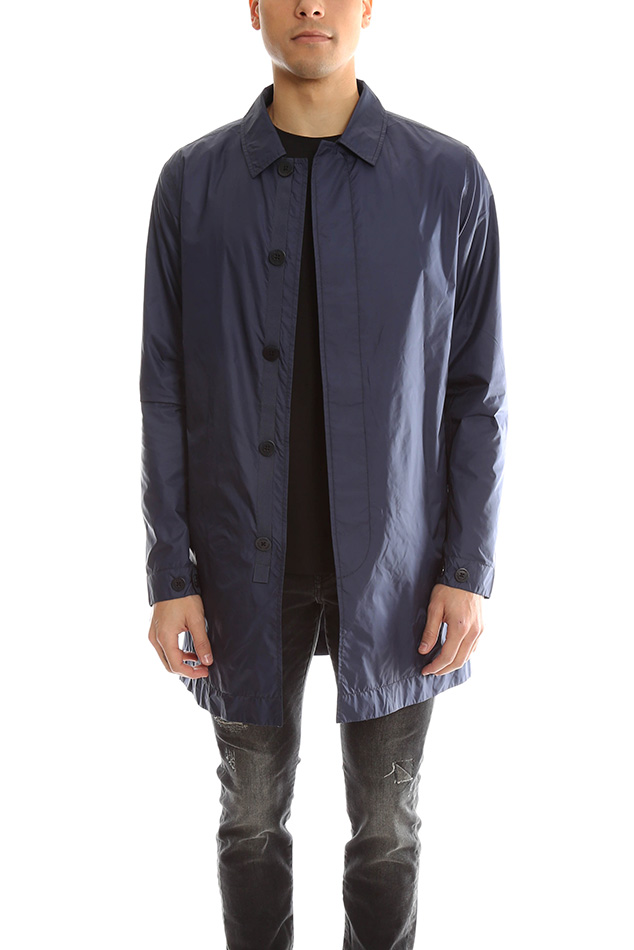 Men's Norse Projects Thor Light Ripstop Jacket in Navy, Size XL