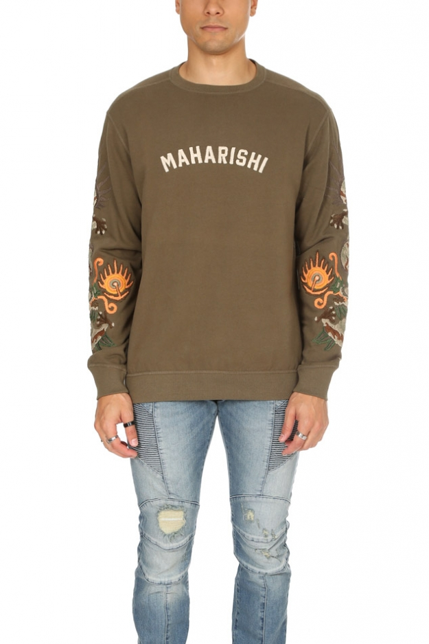 Maharishi 6162 Original Dragon Crew Sweatshirt