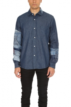 Shuttle Notes Experimental Button Down