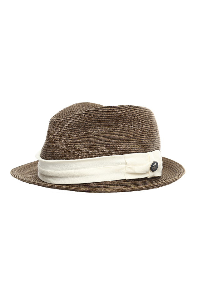 Men's Still Life Toyo Hat in Brown, Size Small