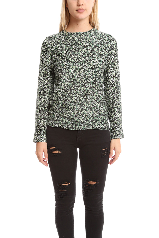 Women's Roseanna Clover Top in Foret, Size 36
