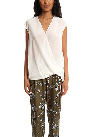 3.1 Phillip Lim Soft Draped Sleeveless Blouse LIMS6-2