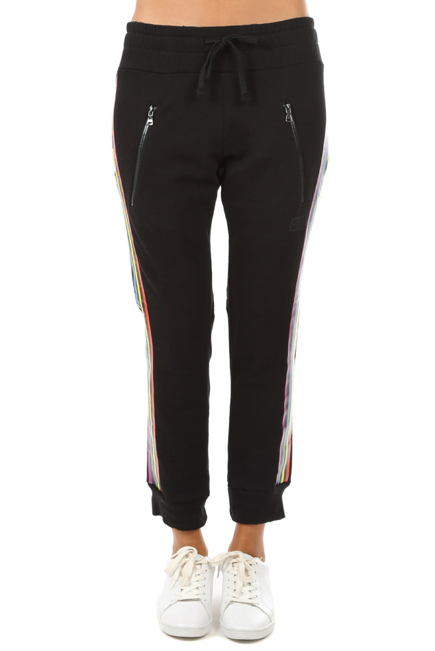 Women's Baja East Stripe Sweatpants in Rainbow, Size 0