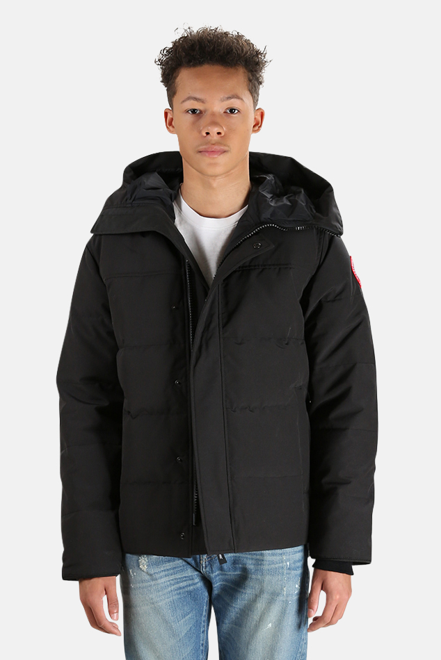 Men's Canada Goose MacMillan Parka Jacket in Black, Size 2XL