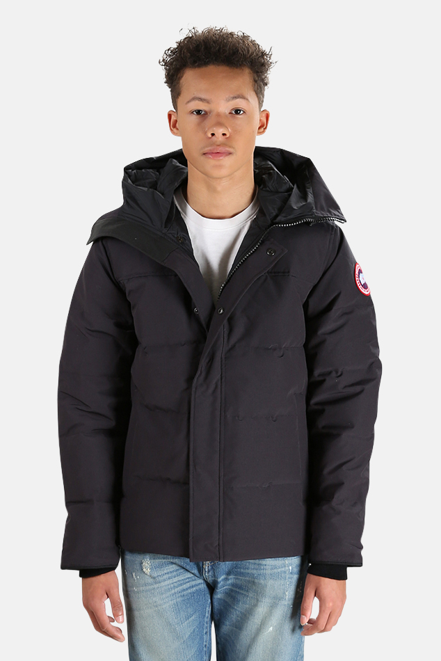 Men's Canada Goose MacMillan Parka Jacket in Navy, Size XL