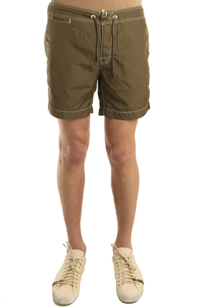 Woolrich Green Dyed Swimshort