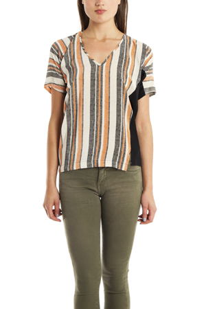 Derek Lam 10 Crosby V Neck Top