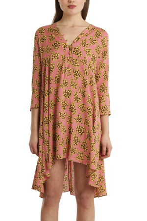 Women's Thakoon Addition Caftan Tunic Top in Pink, Size 0