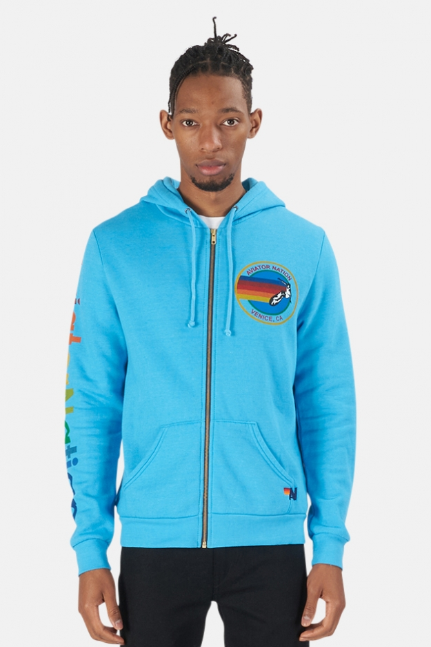 Aviator Nation Zip Hoodie