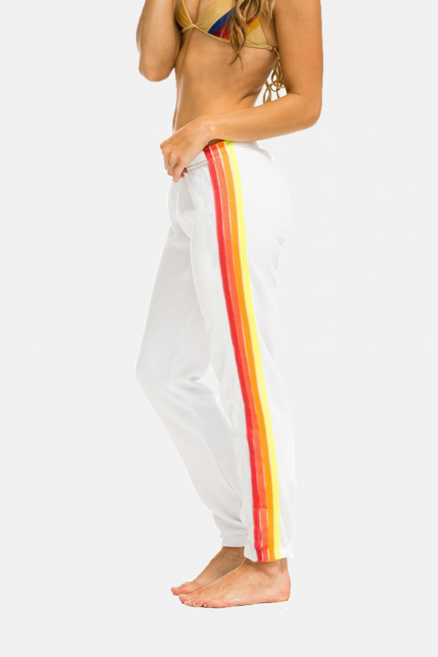 Aviator Nation 4 Stripe Sweatpant