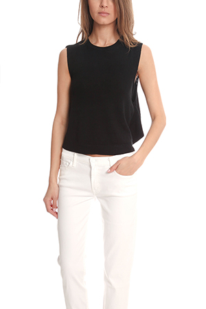 3.1 Phillip Lim Sleeveless Draped Back Top LIMS5-34