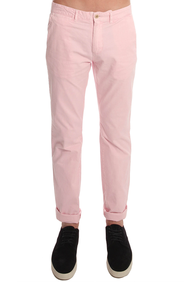 Men's JACHS Dixon Chino Pants in Pink, Size 31