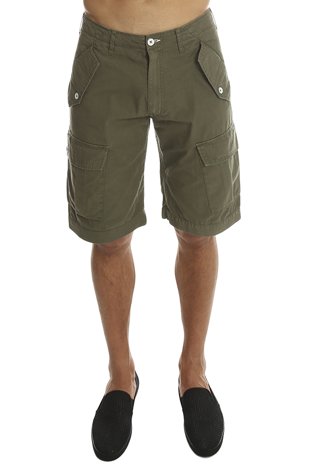 Men's Loomstate Crafton Combat Short in Brown, Size 30