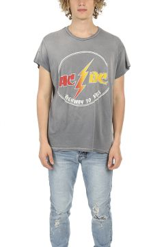 MadeWorn ACDC Circle Highway To Hell Tee