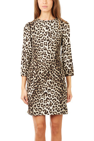 Rag & Bone Short Leopard Dress
