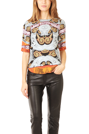 Twelfth Street by Cynthia Vincent Shirt Tail Tee