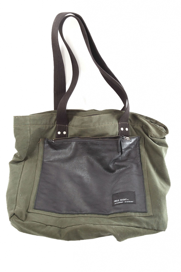 Field Scout Weekend Excursion Army Tote