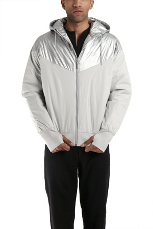 nike sb nike sb thermore insulated silver jacket