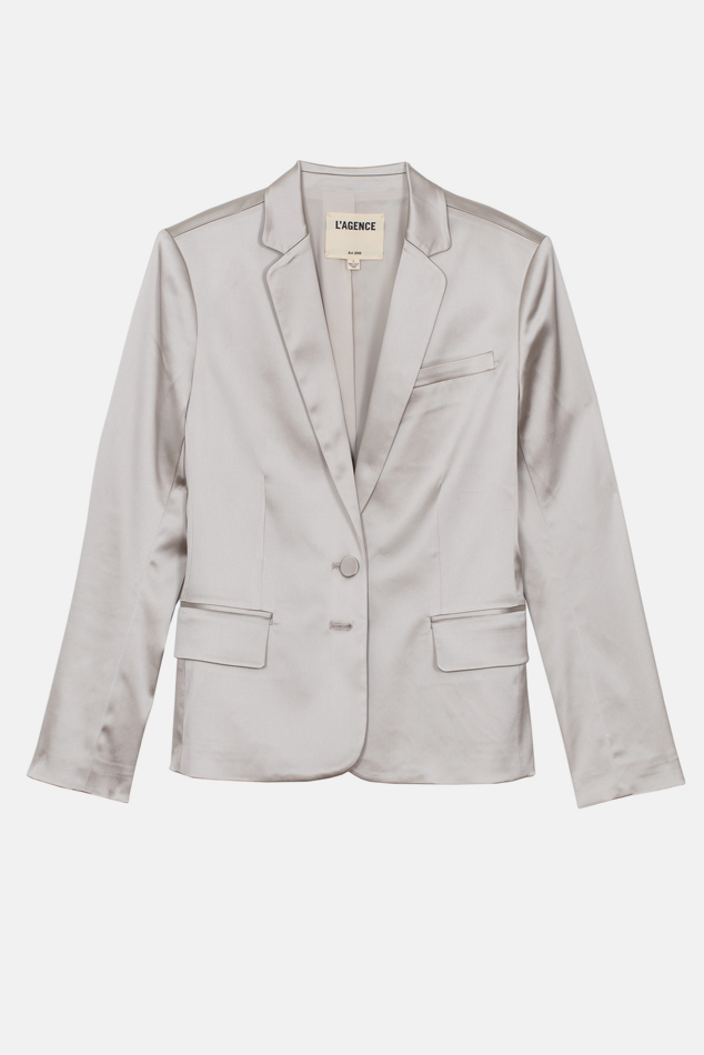 Women's L'Agnece L'Agence Diana Blazer in Champagne, Size 0