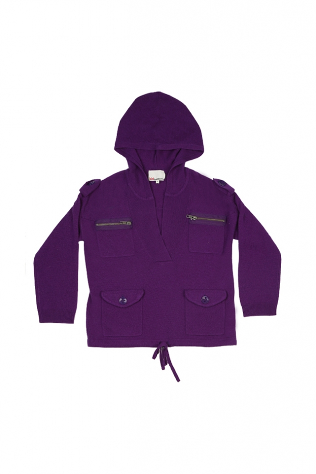 3.1 Phillip Lim Kids Hooded Military Cardigan