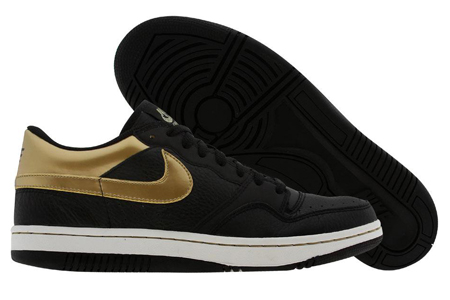 Nike Court Force Low Blk/Gld Nike313561-071