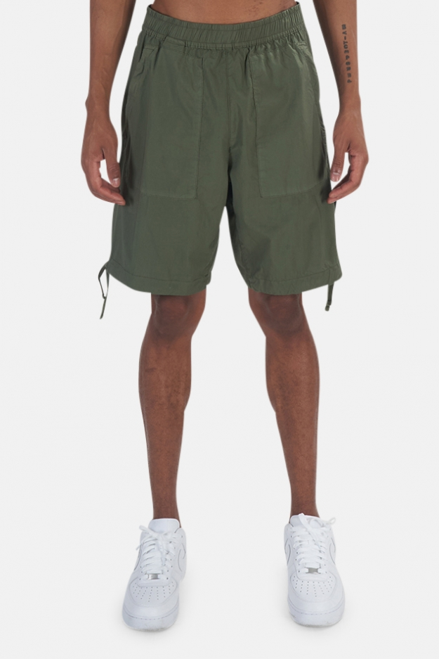 Stone Island Stretch Cotton Shorts